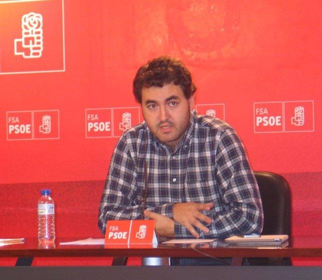 El eurodiputado socialista Jonás Fernández