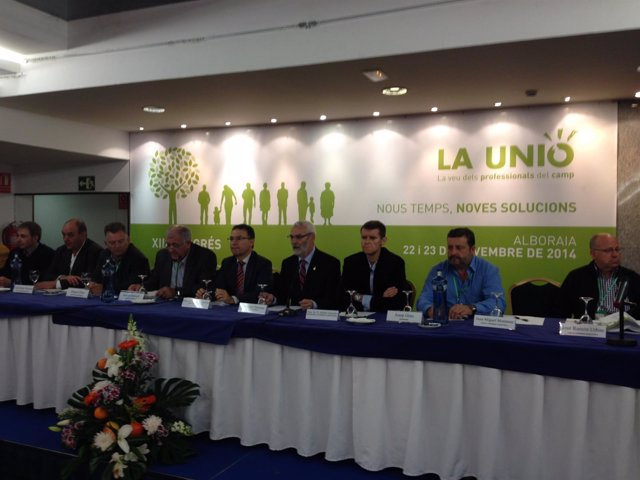 Inauguración del XIII Congreso de La Unió