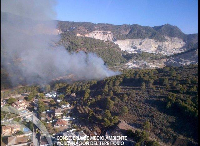 Incendio Alhaurín de la Torre Septiembre 2014