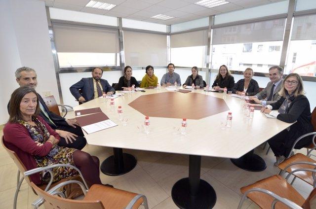 Reunión del Gobierno con el Poder Judicial
