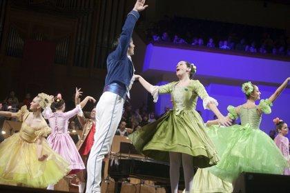El Palau de la Música ofrecerá tres sesiones más de 'La cenicienta' ante el éxito de público