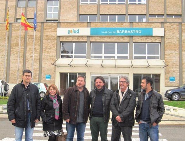 CHA reclama inversión para el Hospital de Barbastro.