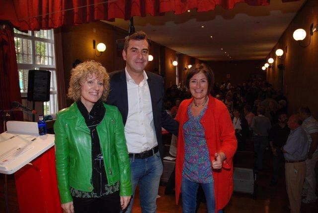 Presentación de Sergio Abascal como candidato socialista a la Alcaldía