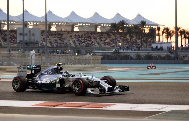 Rosberg en Abu Dhabi