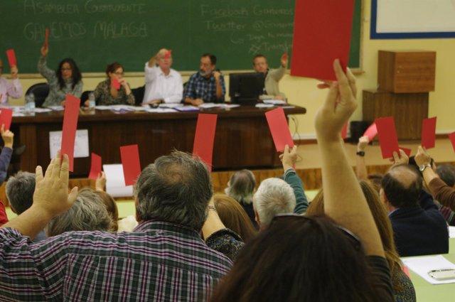 Asamblea constituyente Ganemos Málaga zurita