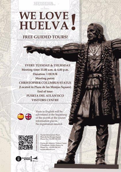 Ayuntamiento pone en marcha la ruta gratuita 'Huelva me encanta'