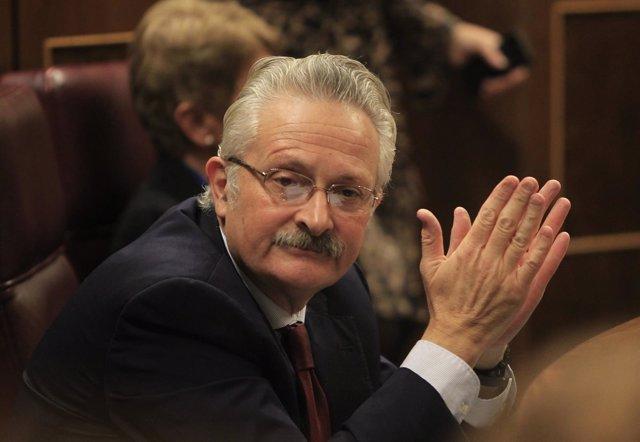 Antonio Trevín, diputado del PSOE, en el Congreso