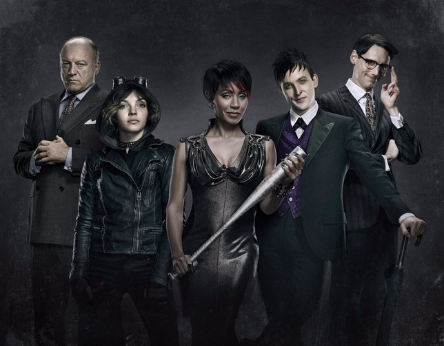 Los villanos de Gotham