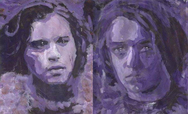 Los protagonistas de Juego de tronos en pinturas