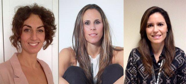 Raquel Corral, Amaya Valdemoro y Susana Pérez-Amor