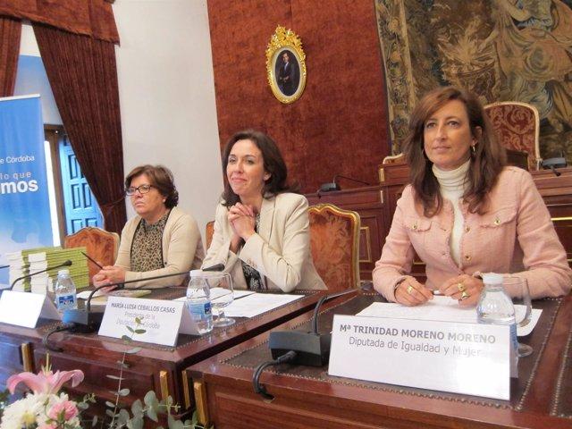 Ceballos (centro), entre Sánchez y Gracia