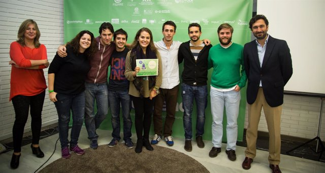 Ganadores de la 'Startup Weekend Córdoba OBD'