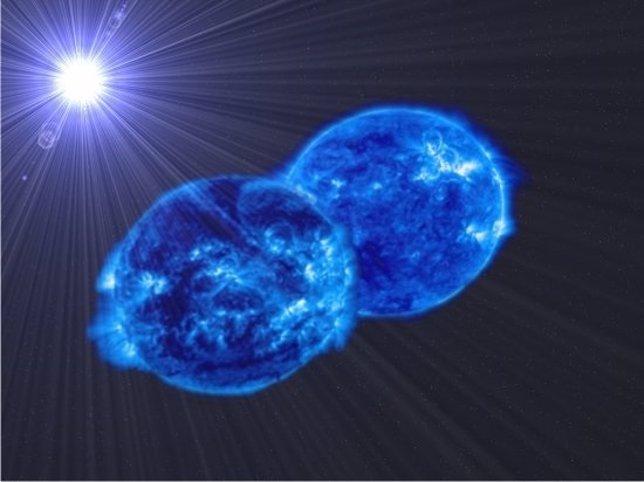 Sistema binario de estrella My Cam
