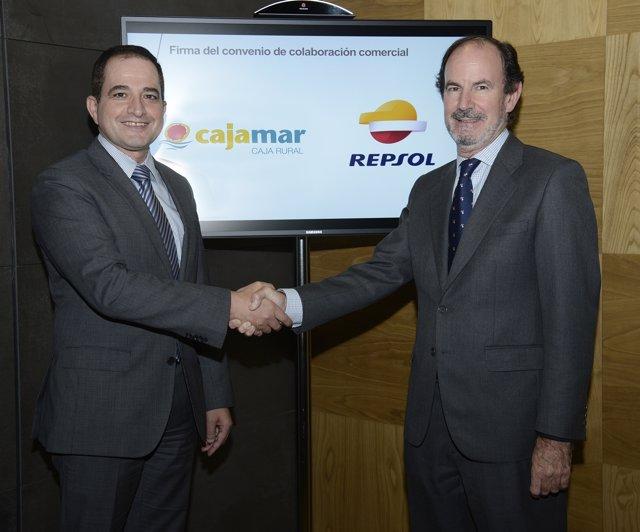 Acuerdo entre Repsol y Cajamar