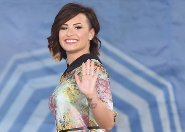 Singer Demi Lovato Attends