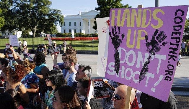 Protestas por la muerte de MIchael Brown