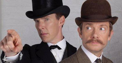 Primera imagen del especial de Sherlock