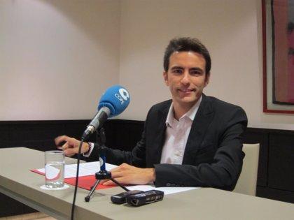 """CANTABRIA.-Pedro Casares quiere lograr una mayoría de consenso y ser el candidato """"de todos los socialistas de Santander"""""""