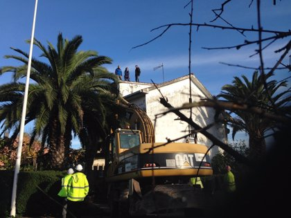 Incidentes en un desalojo en A Coruña