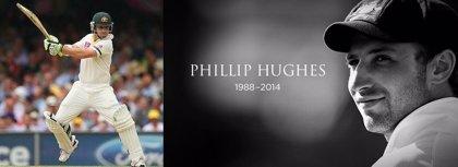 Muere el jugador de cricket Phil Hughes tras un pelotazo en la cabeza