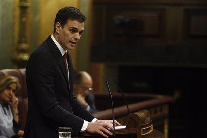 """Sánchez defiende que Rajoy no está """"capacitado ni legitimado"""" para la lucha contra la corrupción que """"exige España"""""""