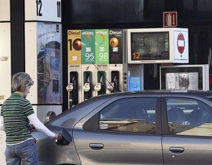 El precio del gasóleo cae un 1,6% y baja de los 1,25 euros