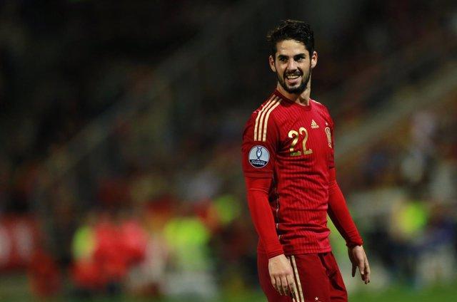 Isco Alarcón selección española España Bielorrusia