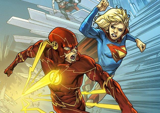 Supergirl y Flash