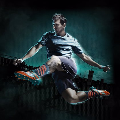 Messi estrenará botas 'rosarinas' ante el Valencia CF