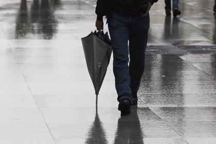 Precipitaciones abundantes y vientos intensos hasta el lunes