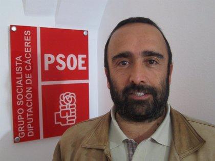 El PSOE critica que la Diputación de Cáceres sólo ha ejecutado el 18 por ciento de la inversión prevista en 2014