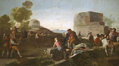 El Prado presenta por primera vez los cartones para tapices de Goya, germen de sus creaciones