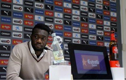 "Caicedo (Espanyol): ""He de exigirme para que salga el mejor Caicedo"""