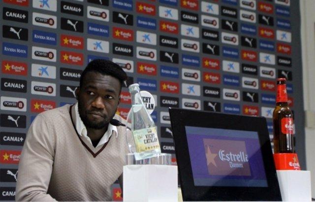Caicedo, jugador del Espanyol