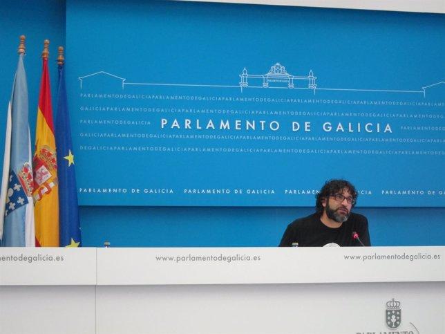 Juan Fajardo (AGE) en rueda de prensa