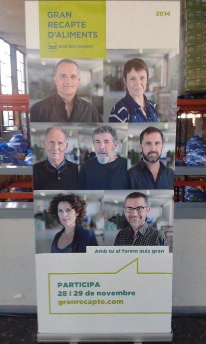 El Gran Recapte del Banc dels Aliments quiere alcanzar las 4.000 toneladas de alimentos recogidos