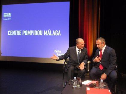El presidente del Pompidou presenta la imagen de la sede de Málaga