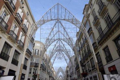 Málaga capital enciende este viernes su alumbrado navideño, con un presupuesto de más de 570.000 euros