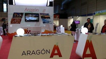 La comunidad aragonesa da a conocer sus productos en INTUR