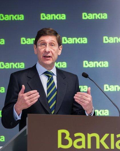 """Goirigolzarri ve """"razonable"""" que el FROB continúe con las desinversiones en Bankia a partir de 2015"""
