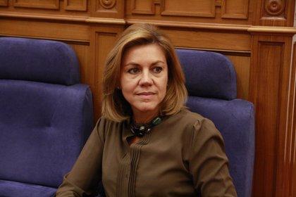 Cospedal ganó 51.092 euros netos como presidenta de Castilla-La Mancha en 2013