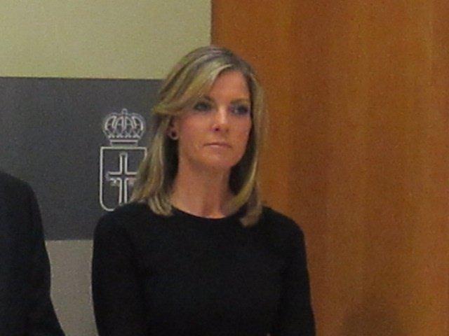 Consejera de Bienestar social y Vivienda, Graciela Blanco
