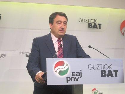 """Esteban reclama el """"reconocimiento de la nación vasca"""""""