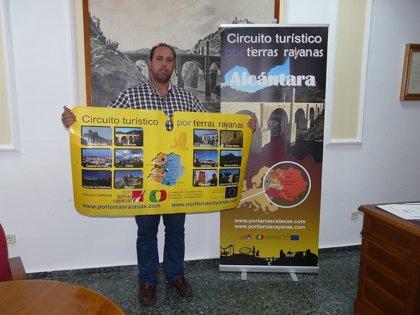 Alcántara edita material promocional del circuito Por Tierras Rayanas