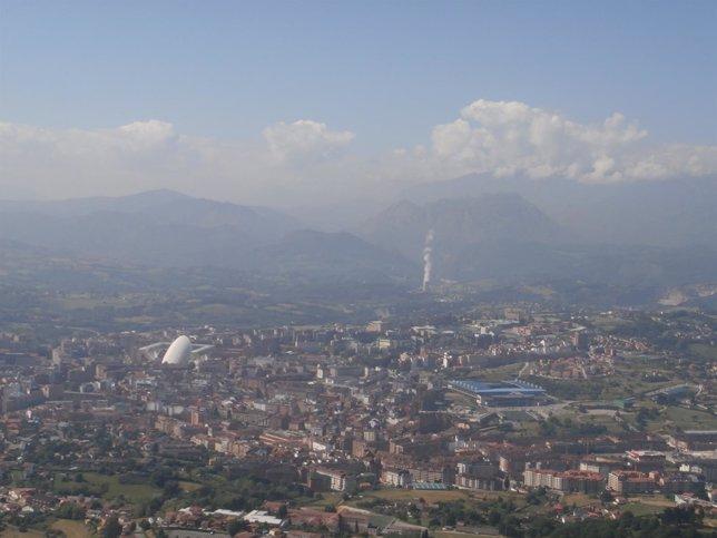 Oviedo, contaminación