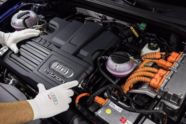 Producción del Audi A3 Sportback e-tron