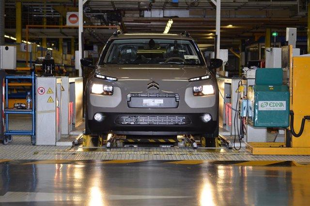 Planta de PSA Peugeot Citroën en Madrid