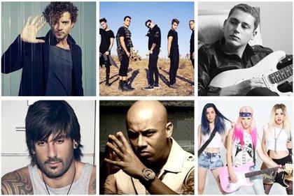 Premios 40 Principales 2014: David Bisbal, Midnight Red, Cris Cab, Melendi, Wisin y Sweet California se unen a la fiesta
