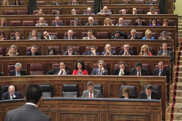 Plano General del Grupo Parlamentario del PP en el Congreso