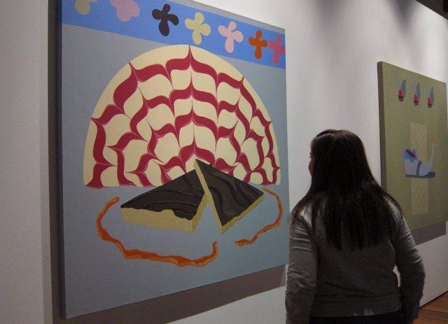 Obras De La Muestra 'Marisa Casalduero. Retrospectiva', En El Centro Del Carmen
